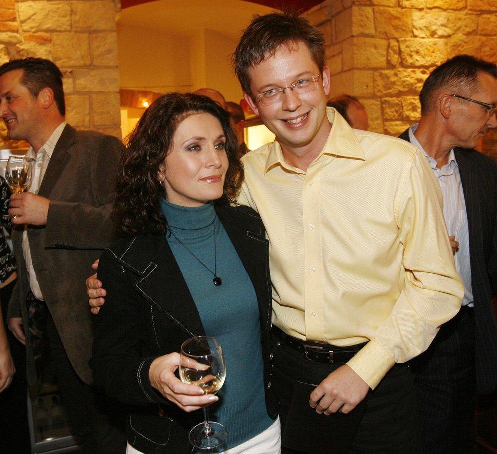 Iveta Toušlová s Alešem Cibulkou
