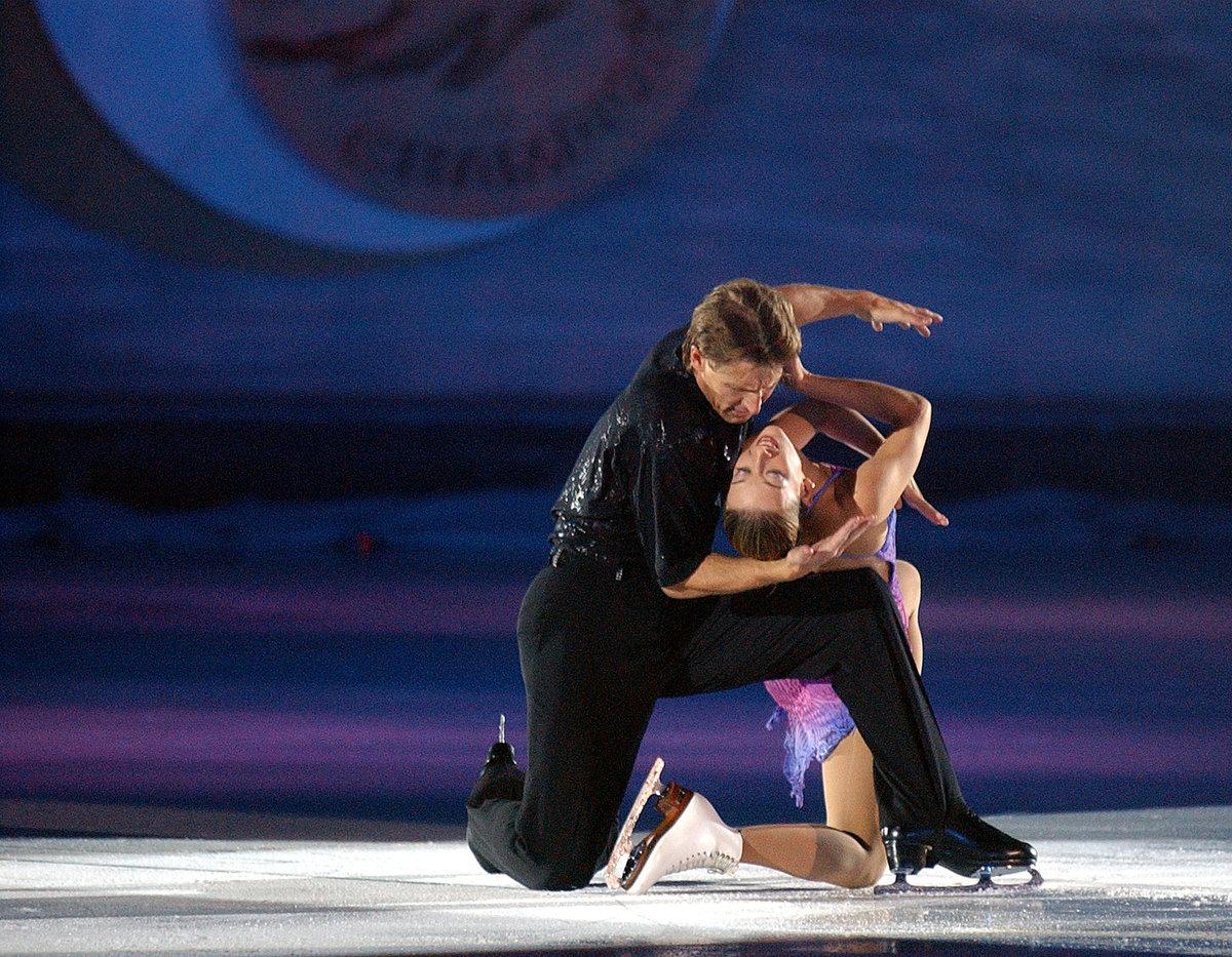 René Novotný a Radka Kovaříková jako Champions on Ice