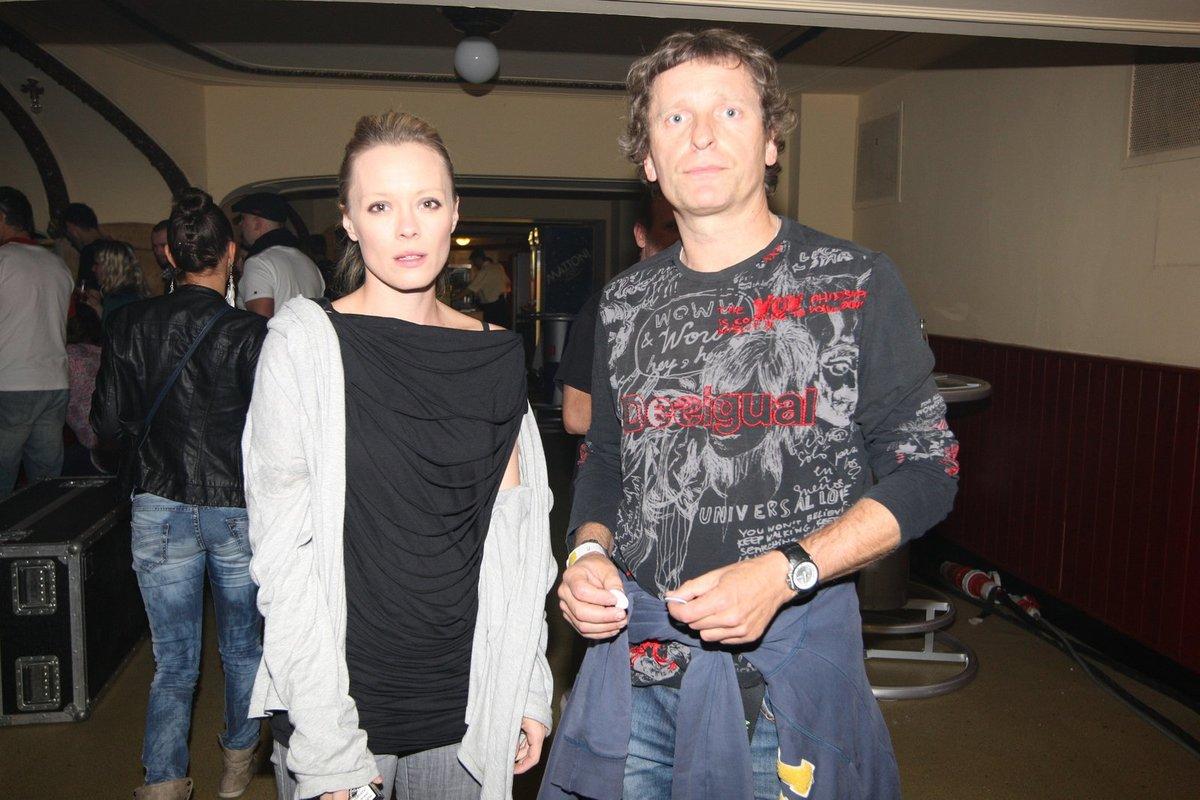 Linda Rybová a David Prachař.