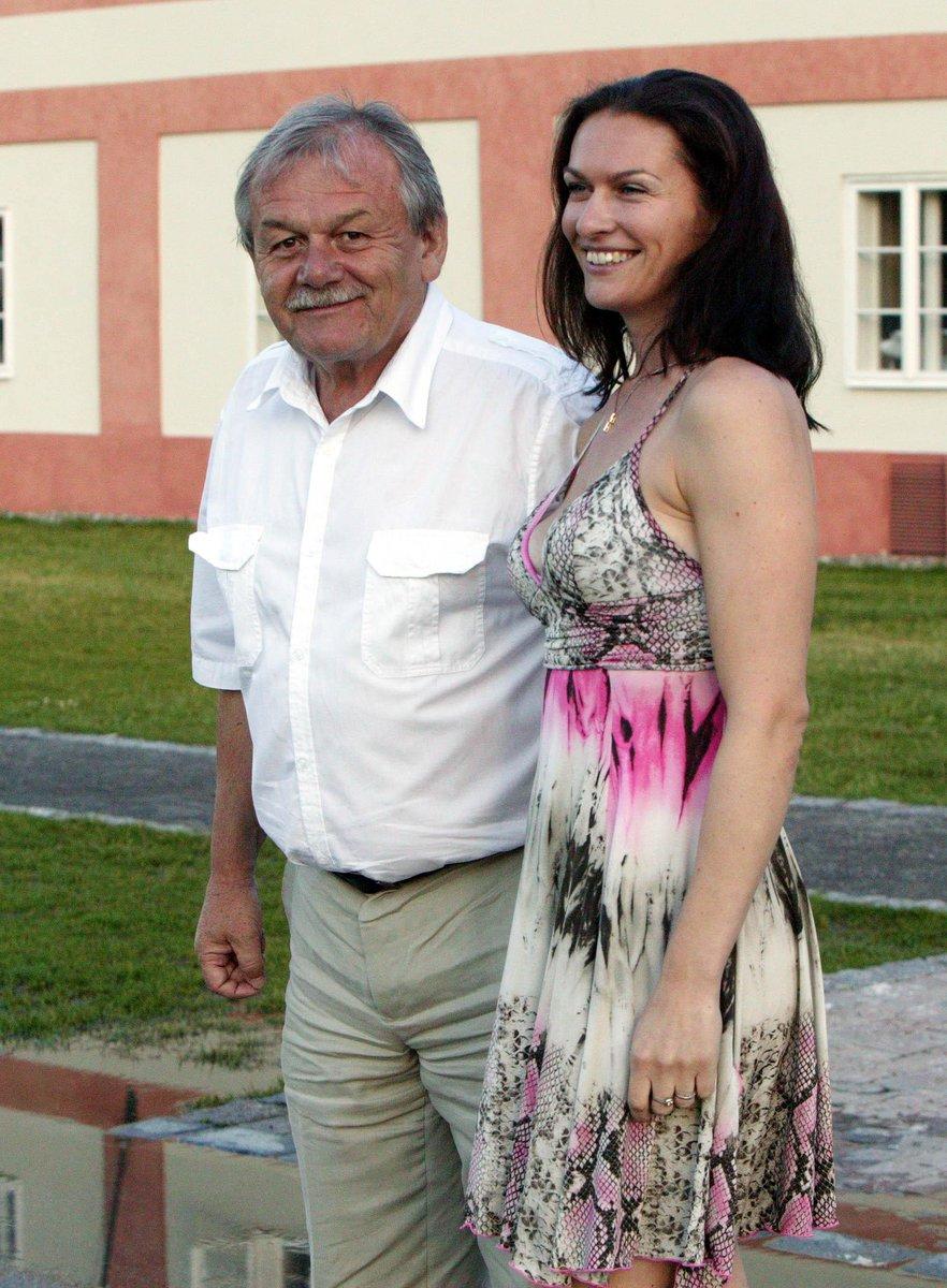 Karel Šíp s manželkou Ivou.