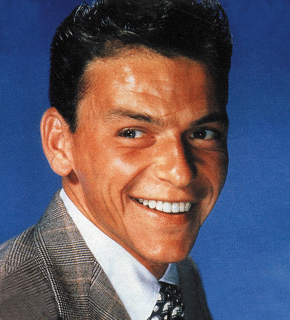 Frank Sinatra byl prý také opravdu obdařený. Nosil ručně dělané spodní prádlo dle jeho měr.