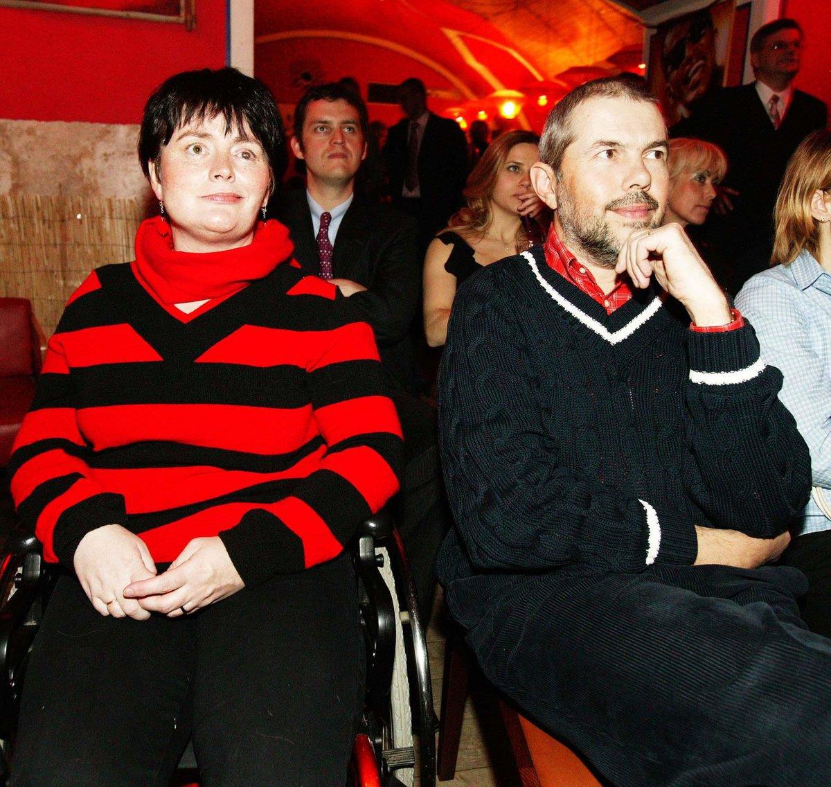 Marek Eben a manželka Markéta Fišerová