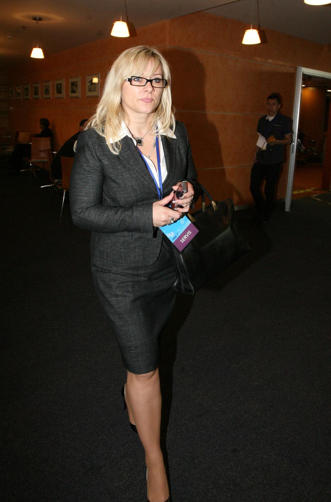 Expremiérova pravá ruka Jana Nagyová, dnes už Nečasová před soudem