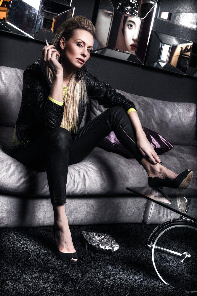 Moderátorka se deset let živila jako modelka.