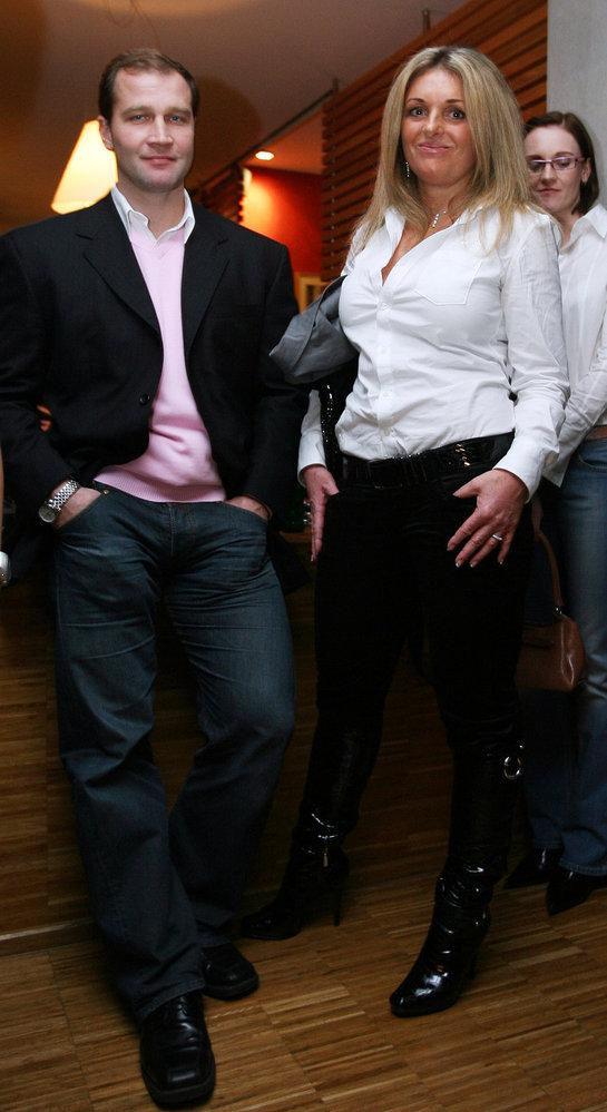 Jiří Šlégr s manželkou Kateřinou si teď nemohou přijít na jméno.