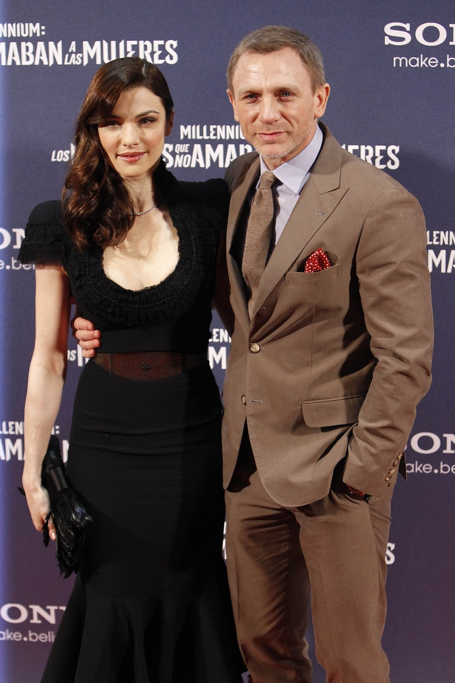 Daniel Craig se svou ženou