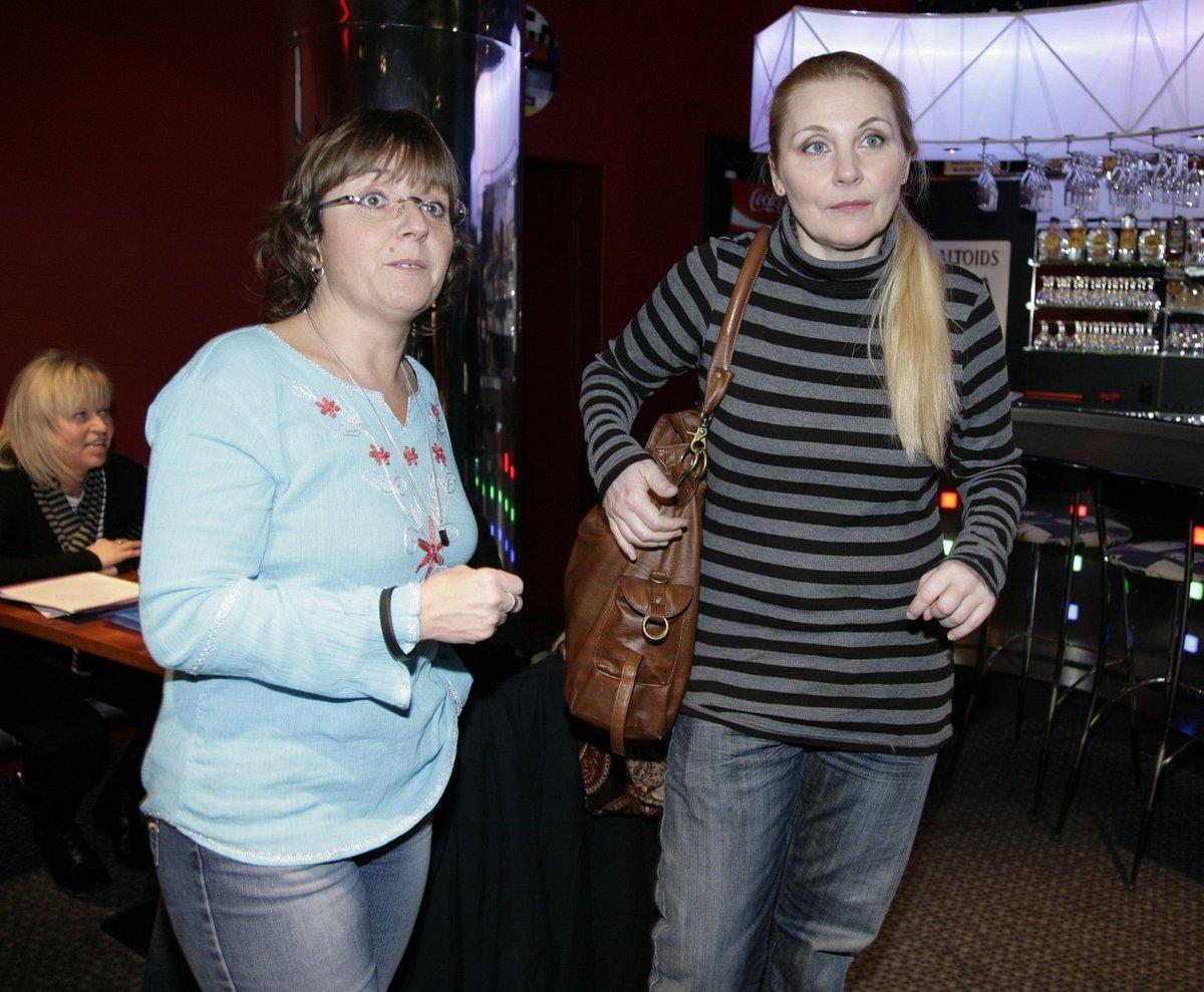 Veronika Gajerová s Bárou Hrzánovou.