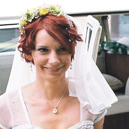 Nevěsta Dorota před obřadem zářila štěstím