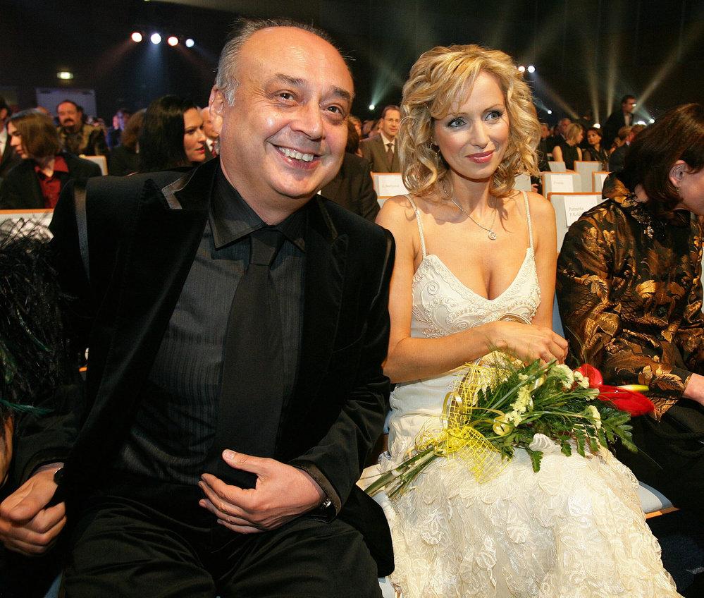 Peter Kovarčík s Kateřinou Brožovou