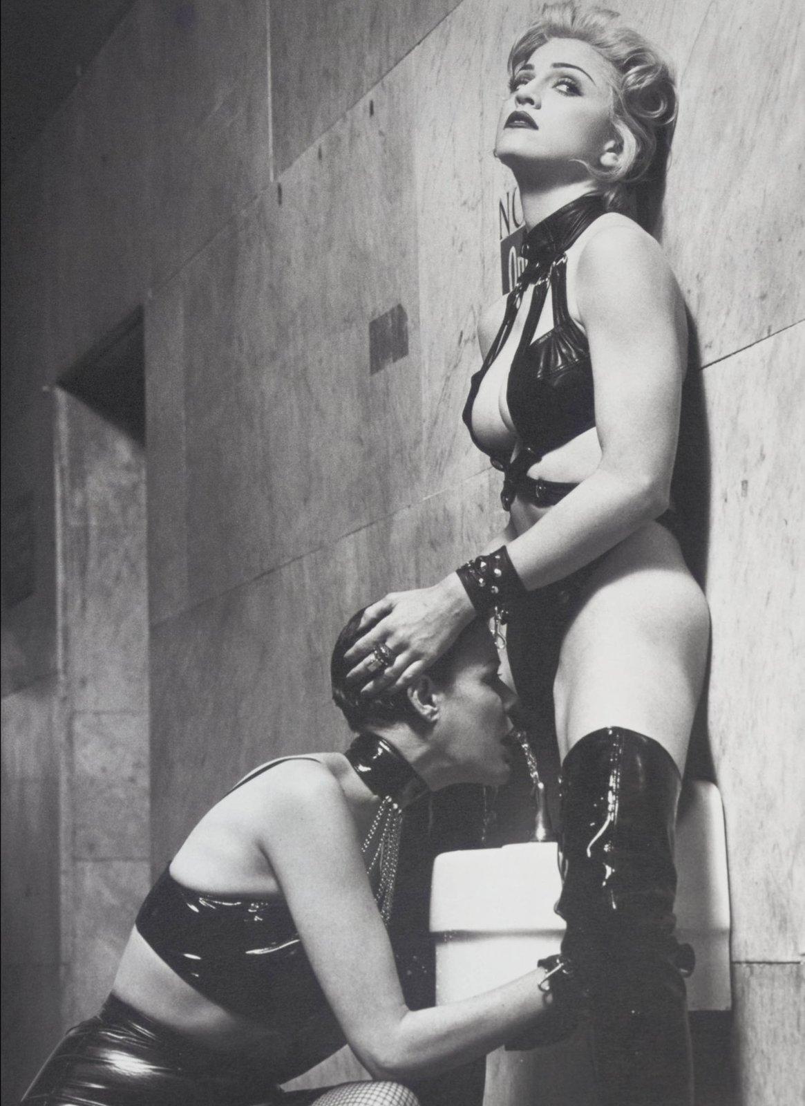 šokující Madonna