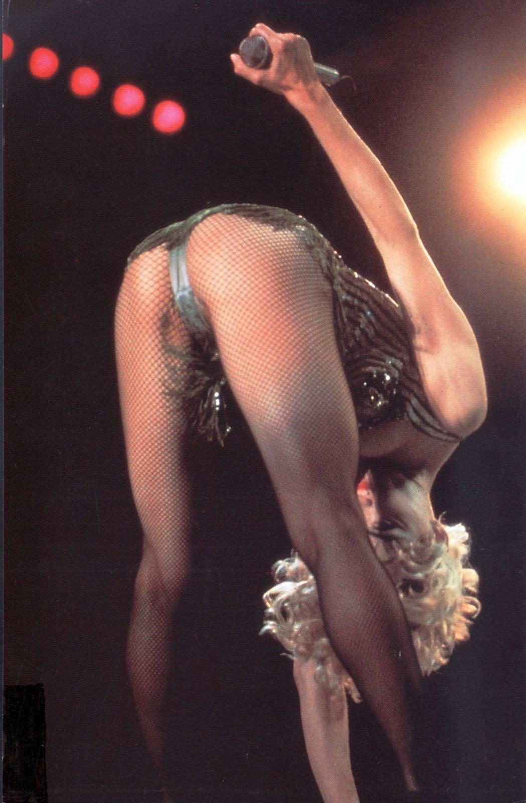 sexy póza Madonny