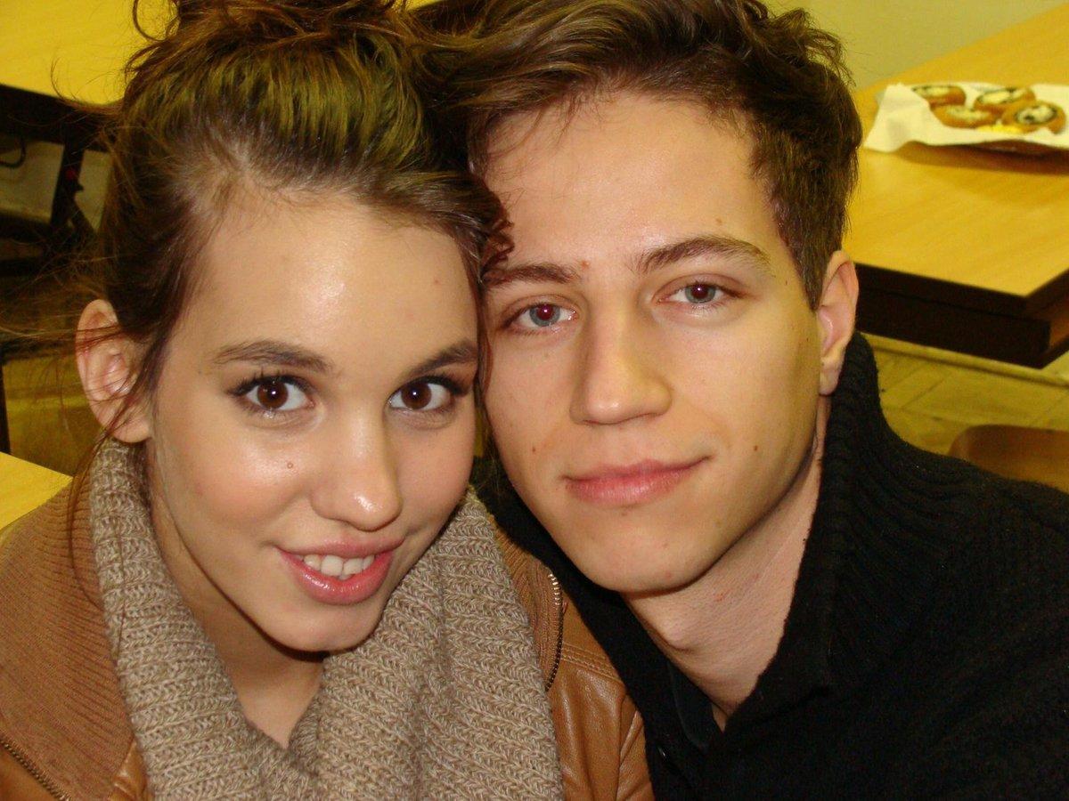 Míša s bývalým přítelem Milanem Peroutkou