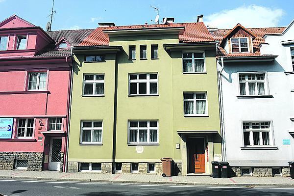 V tomto domě v Litoměřicích Holzmann bydlel