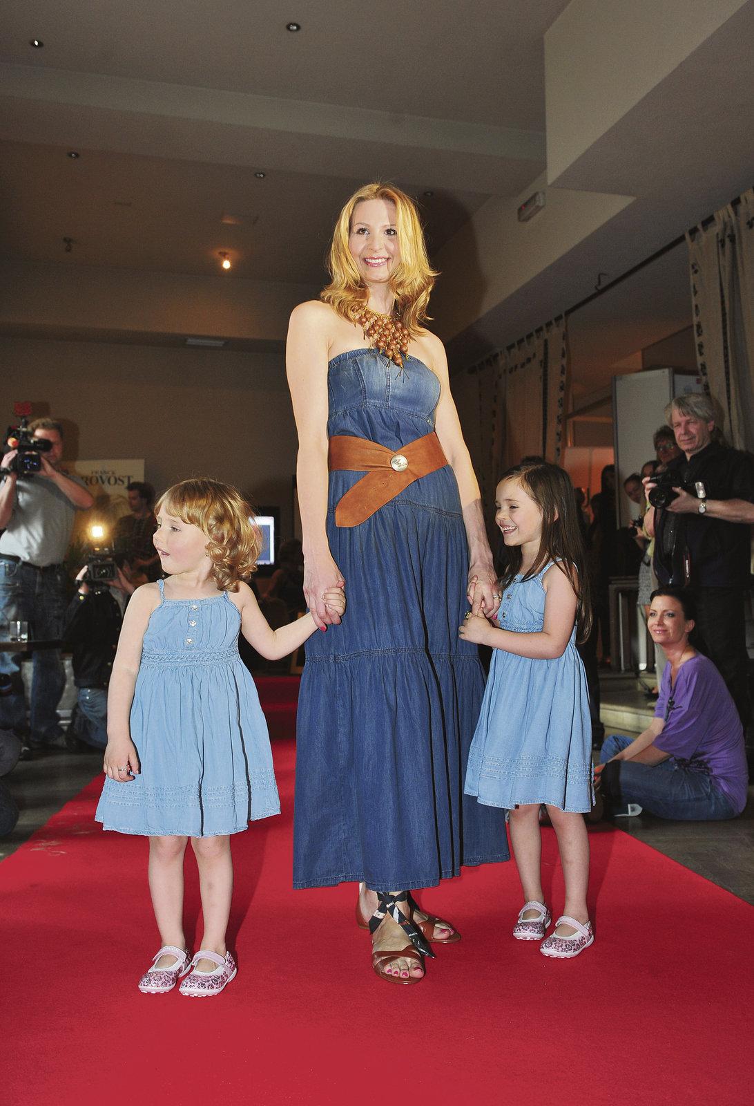 Ivanka Gottová se ráda chlubí svými dcerami.
