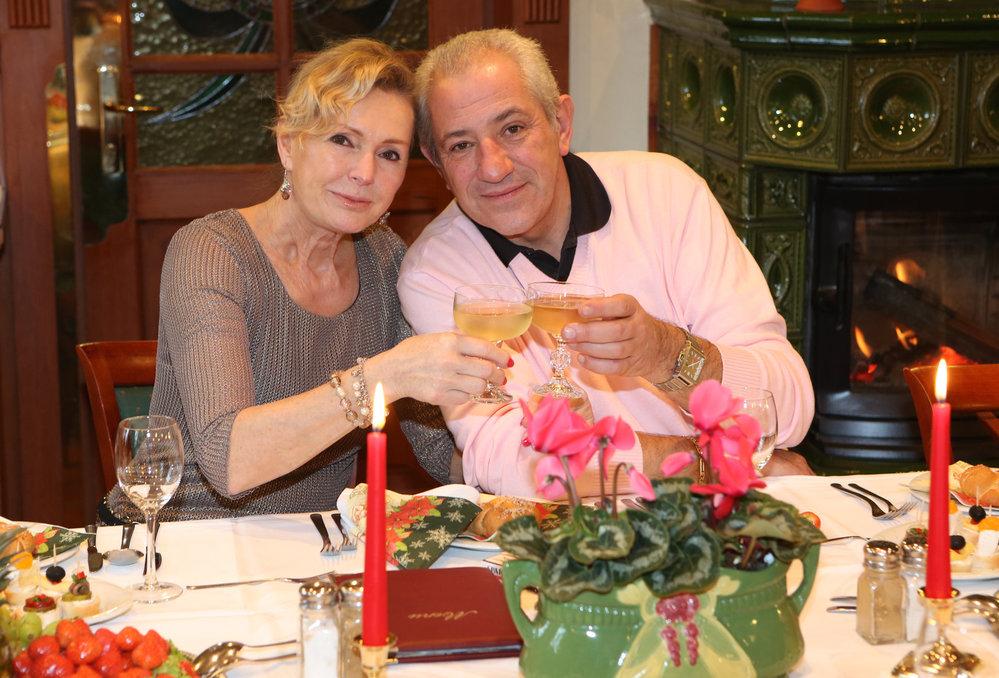 Helena Vondráčková s Martinem Michalem.