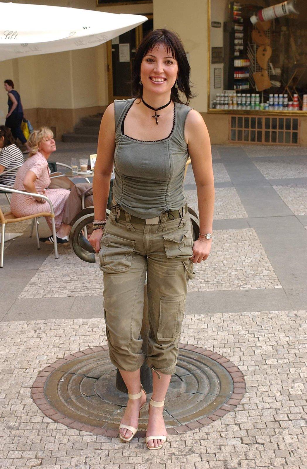 V roce 2003 Christová opět nějaké to kilo nabrala