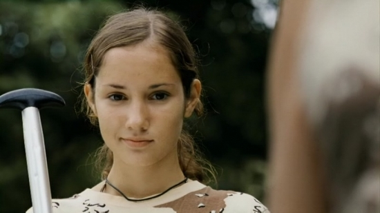 Eliška Křenková v Rafťácích stvárnila roli Venduly, dcery zálesáka Bořka