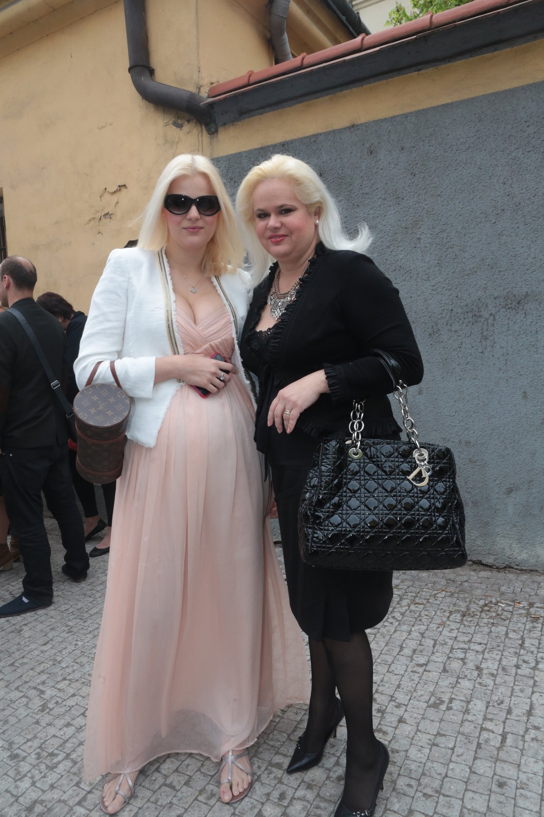 Monika Štiková s dcerou Ornellou