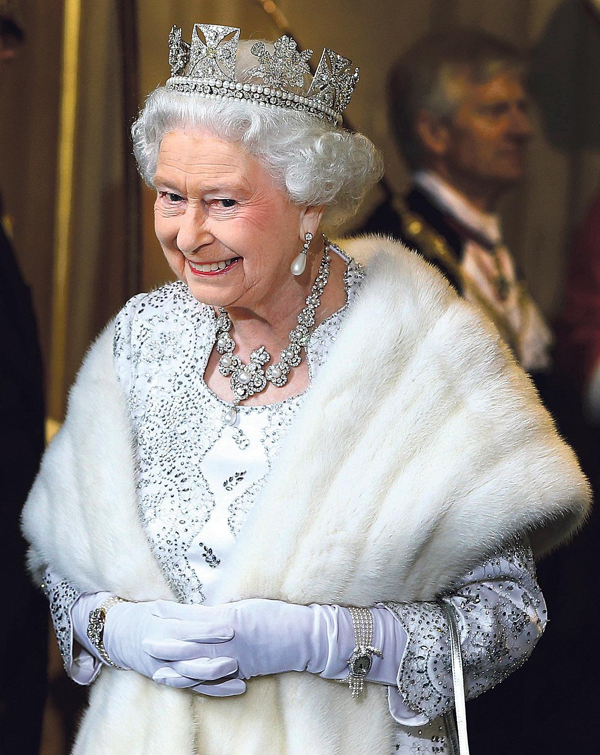 Královna ve »služebním«