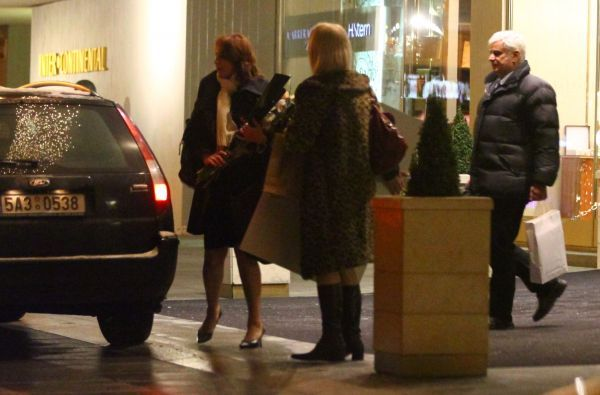 Listopad 2010: Zlata a Petr v Praze na ulici