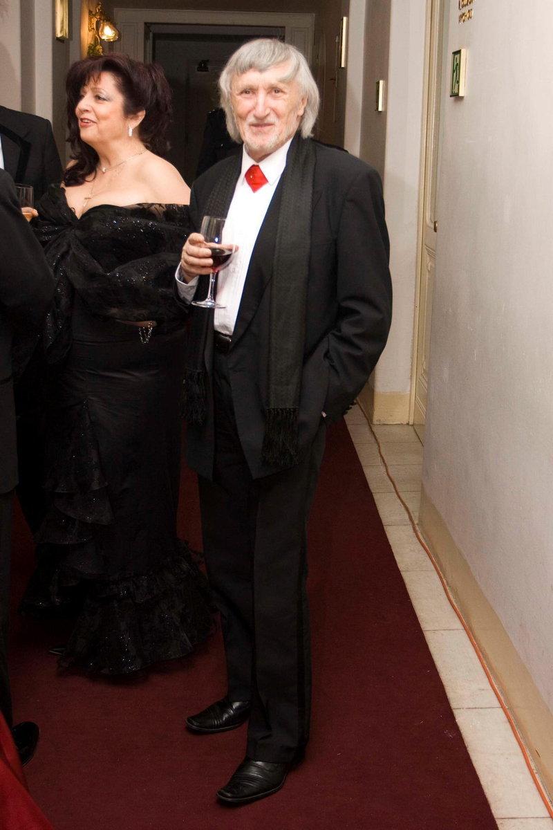 Režisérovi nevkus jeho manželky očividně nevadí (snímek z roku 2010)