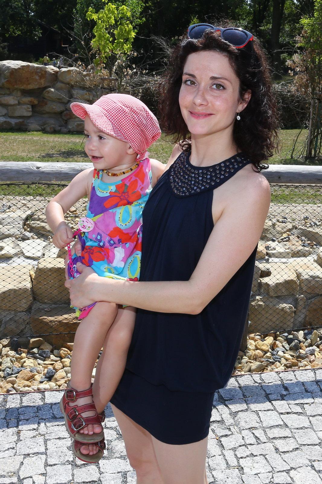 Lucie má necelé dva roky po porodu dcery postavičku jako ze žurnálu.