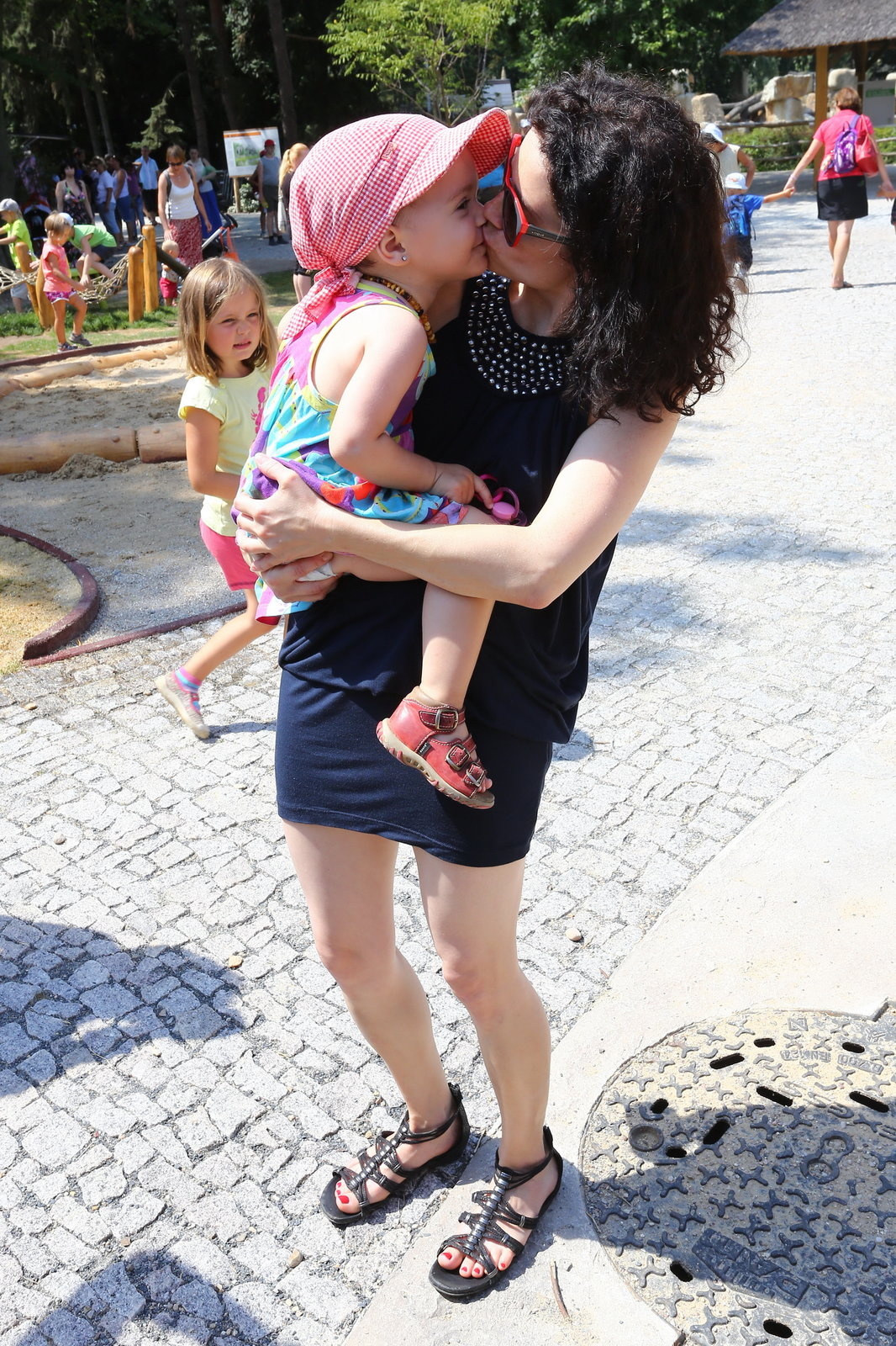 Maminka Lucie Šoralová je ze své holčičky nadšená.