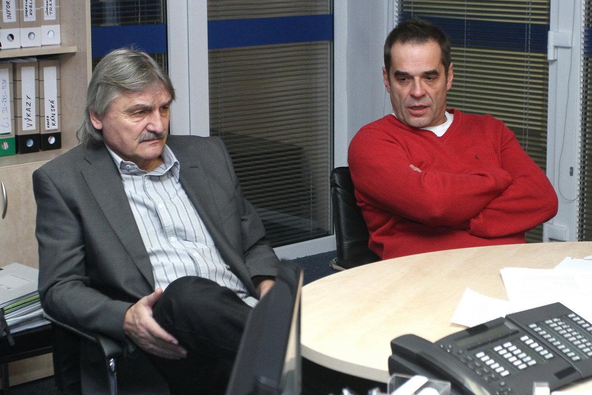 Pavel Soukup a Miroslav Etzler