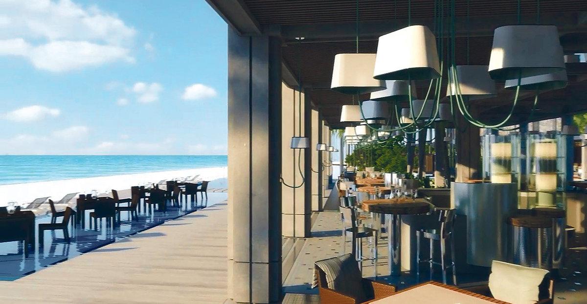Luxusní restaurace čeká na hosty