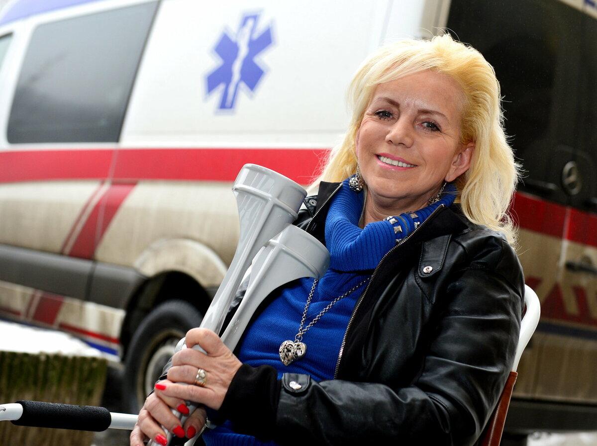 Hana Krampolová je často nemocná nebo zraněná.