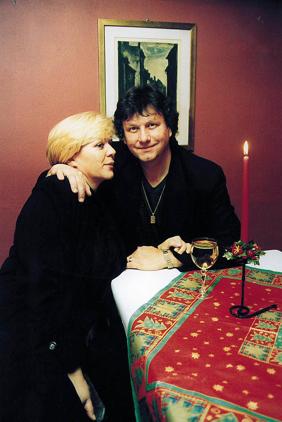 Stanislav Hložek s manželkou.