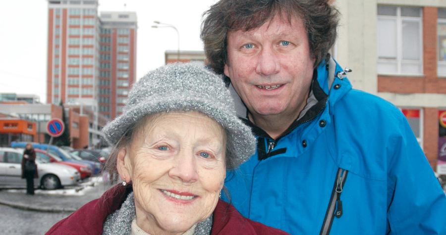 Standa Hložek se svou maminkou Radomilou.