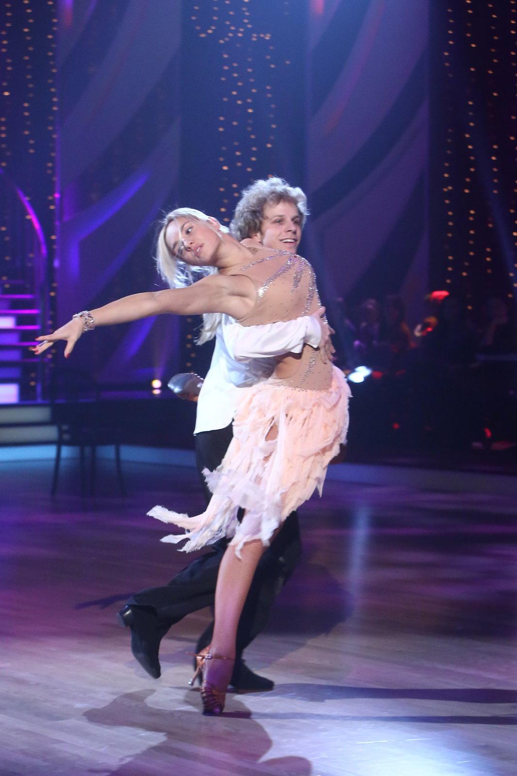Miss World Taťána Kuchařová a Jan Onder zatančili rumbu