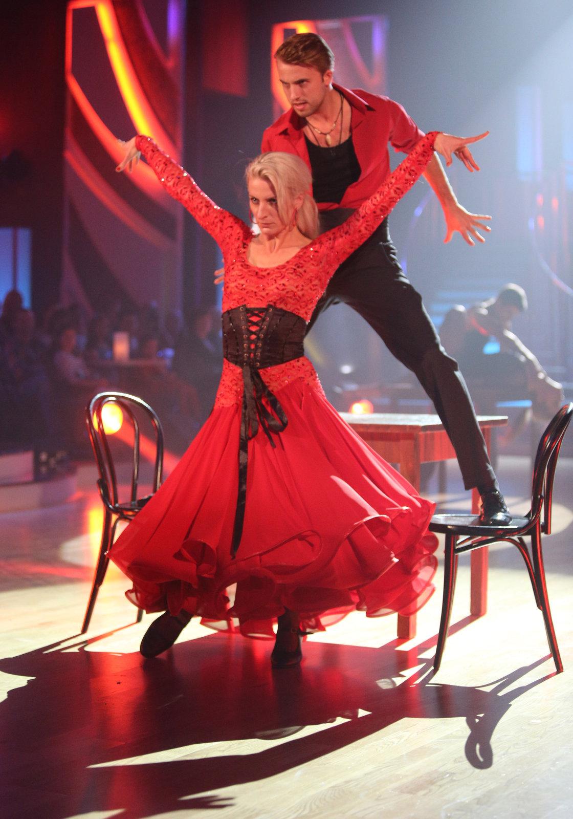 Michal s Aničkou zatančili vášnivé tango