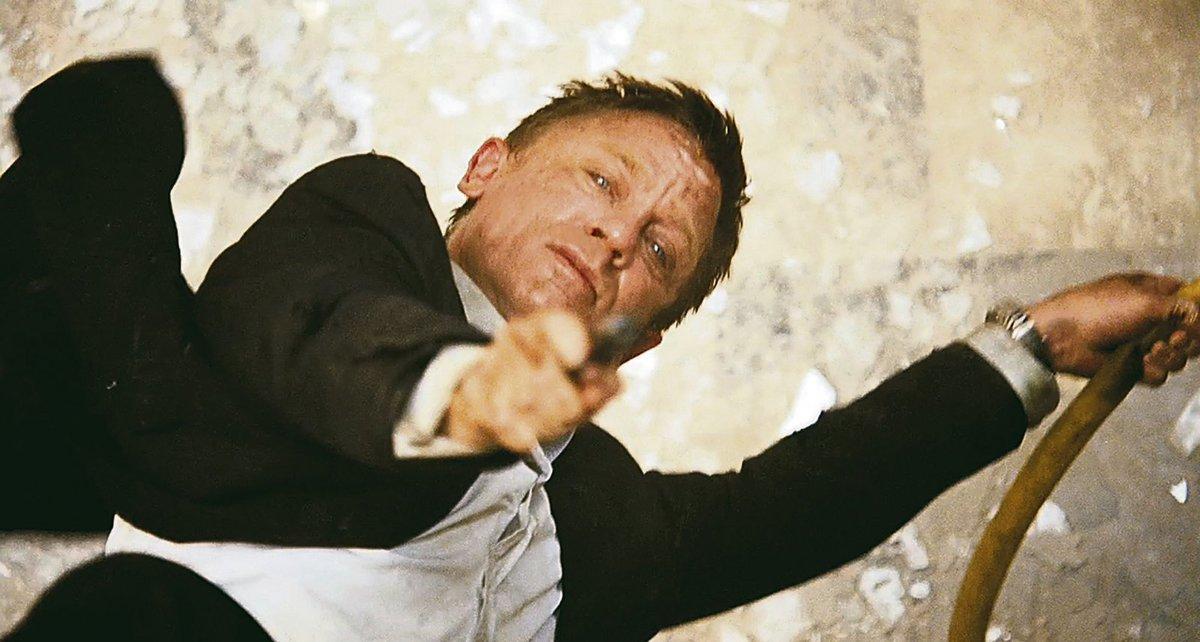 Daniel Craig sám odehrál několik fyzicky náročných scén