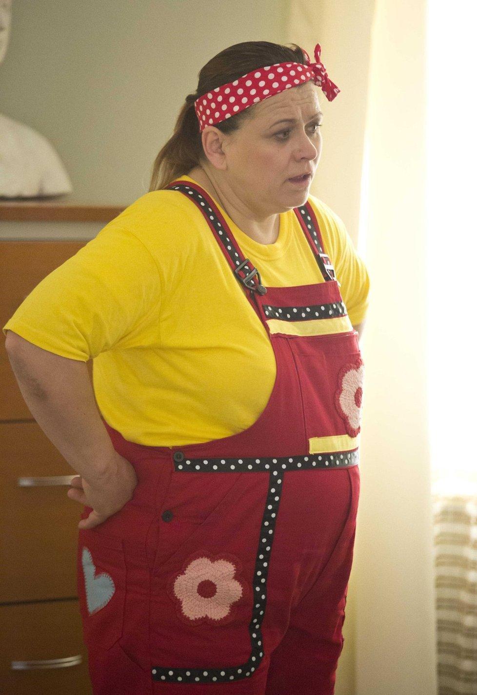 V seriálu Gympl hrála uklízečku.