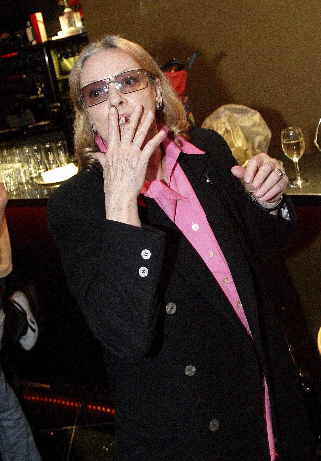 Brejchová kouří od 15 let.