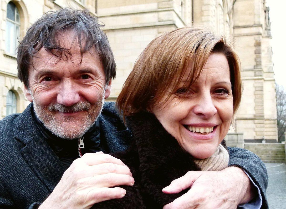 Tatiana Drexler s manželem