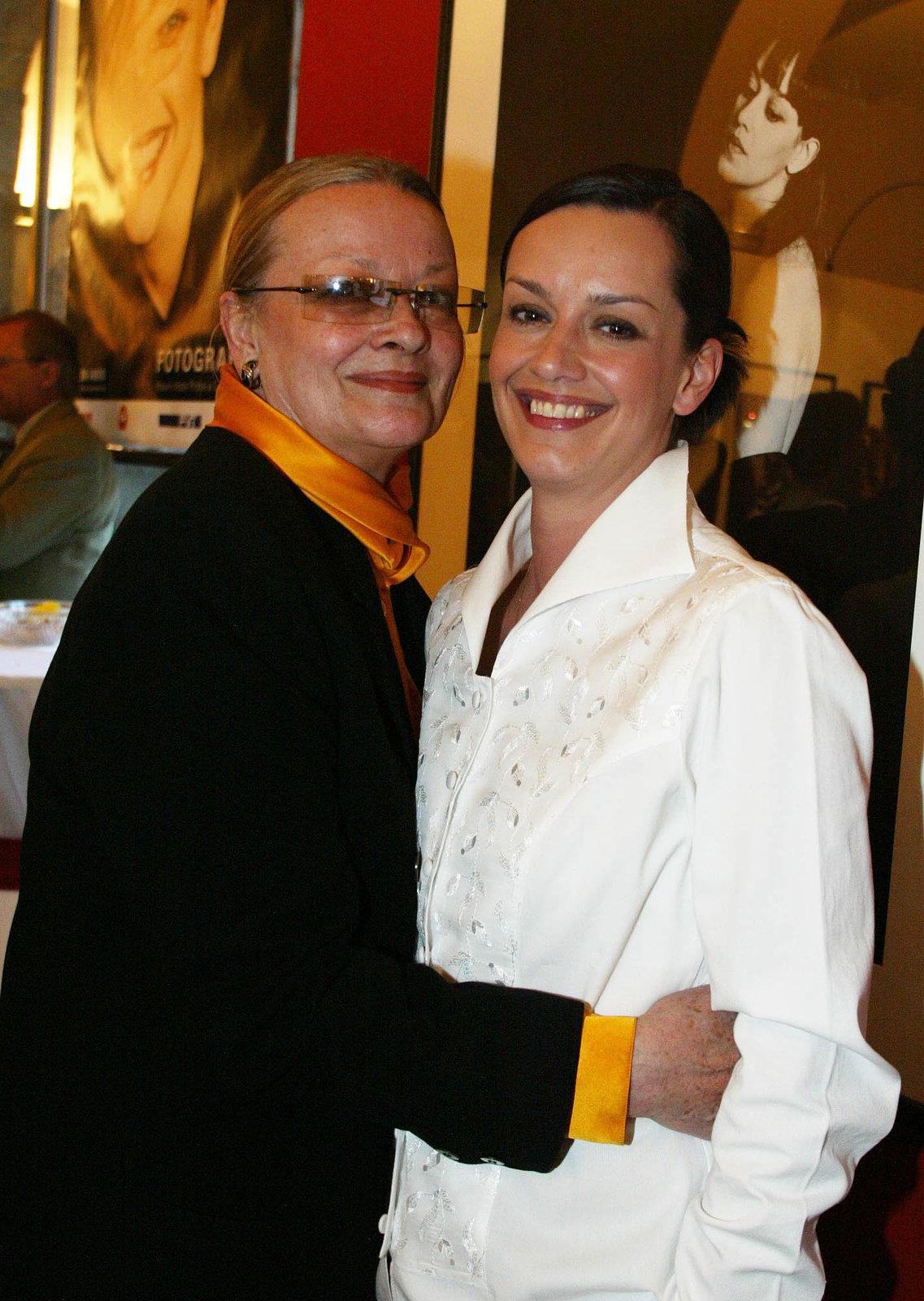 Jana Brejchová s dcerou.