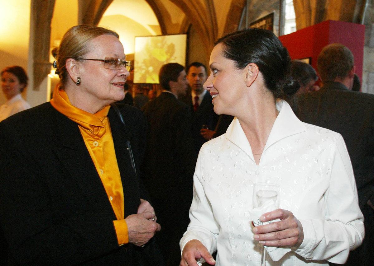 Jana Brejchová a Tereza Brodská