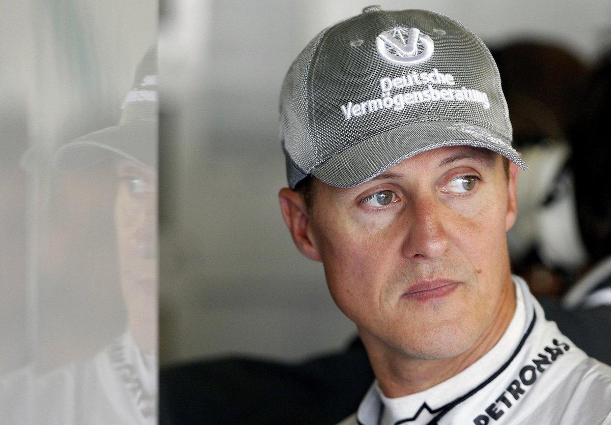 Sedminásobný mistr světa F1 Michael Schumacher.