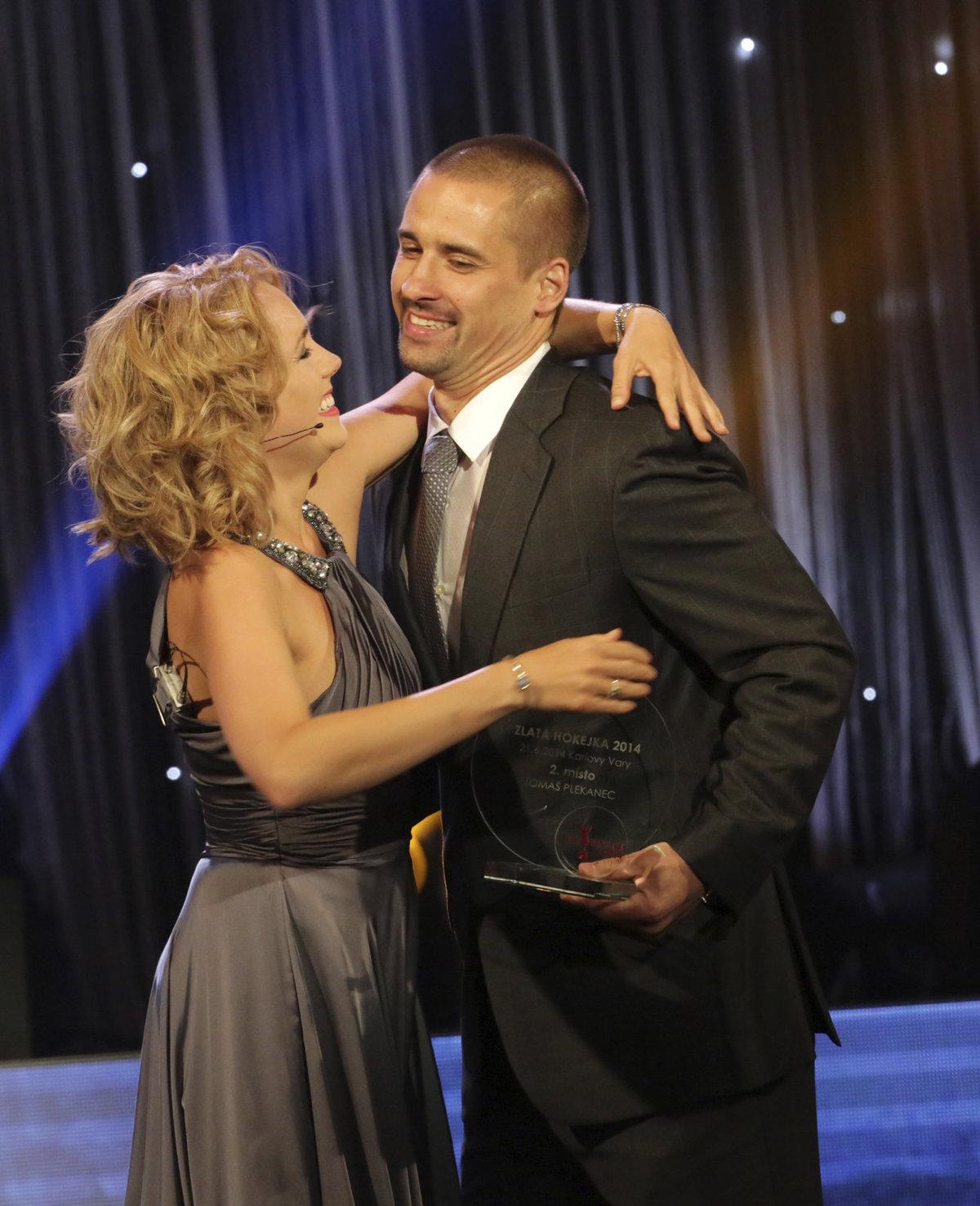Lucie s manželem Tomášem Plekancem.