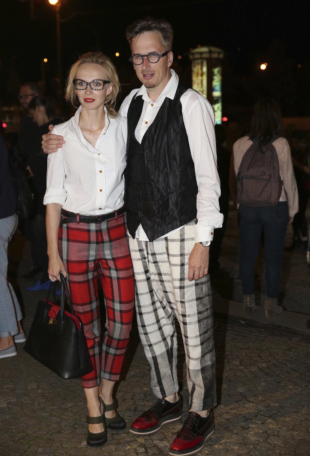 Prague Fashion Weekend 2014: Herečka Jana Plodková s přítelem