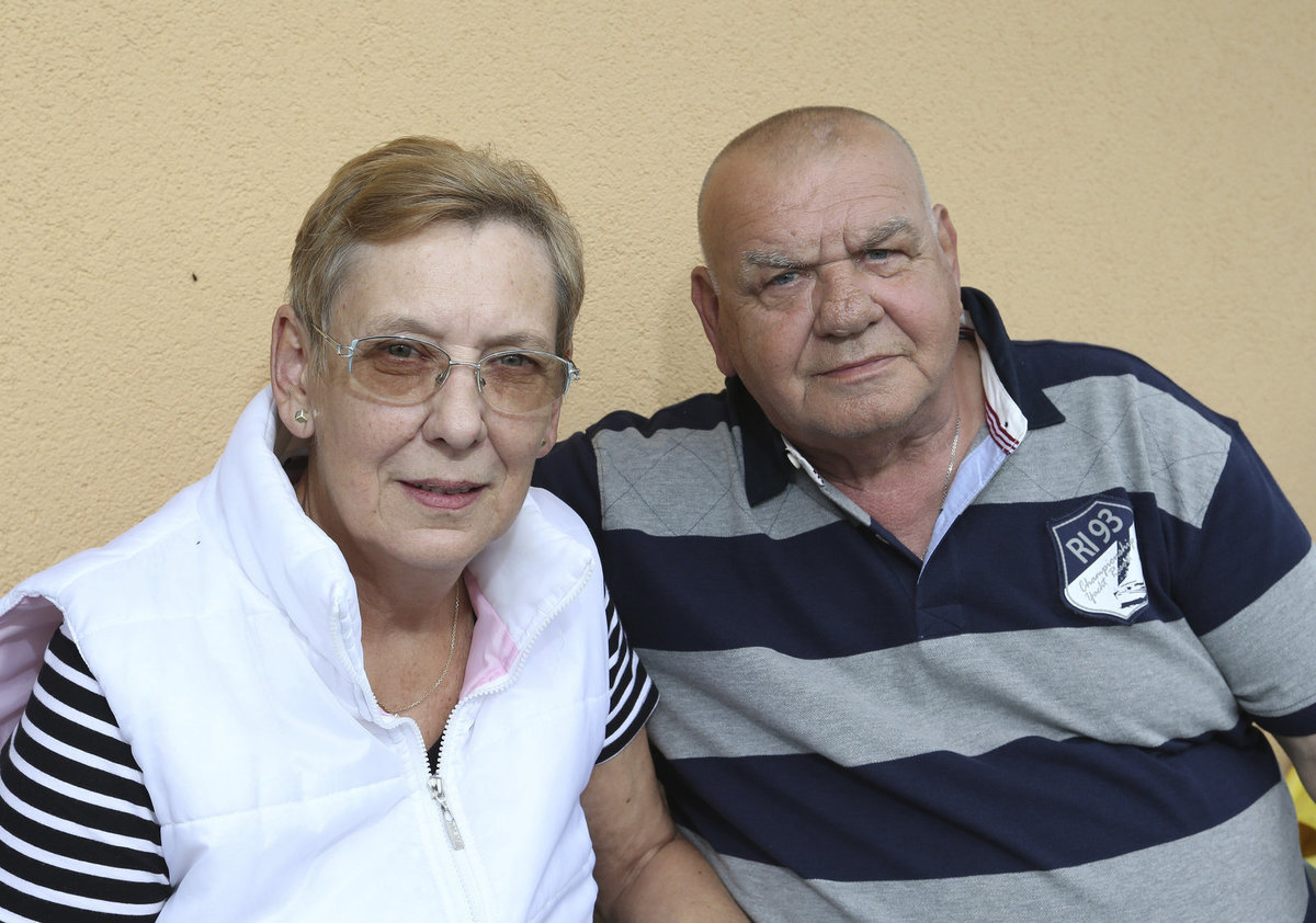 František a Marie Nedvědovi: Šťastné manželství od roku 1972.
