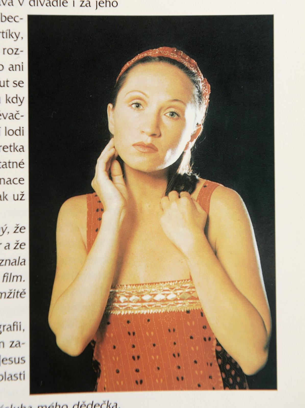 Bára Basiková před dvaceti lety jako Máří Magdaléna.