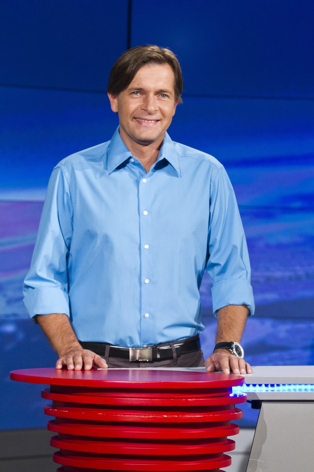 Moderátor Martin Pouva