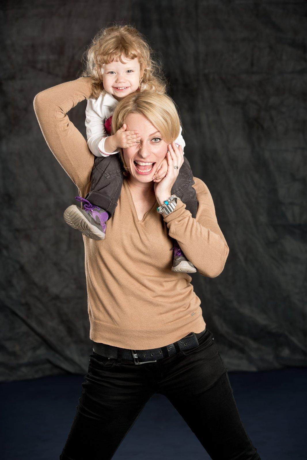 Dcera Jasmína podědila taneční vlohy a také ji baví hudba.
