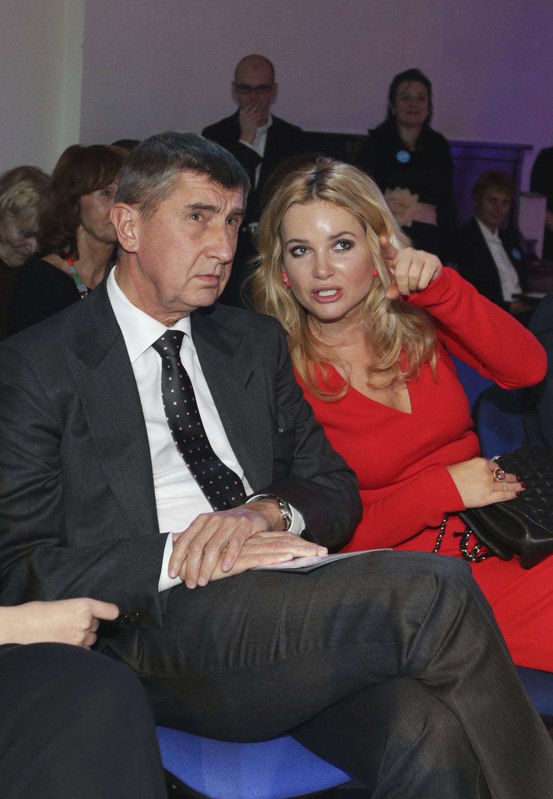 Andrej a Monika Babišovi