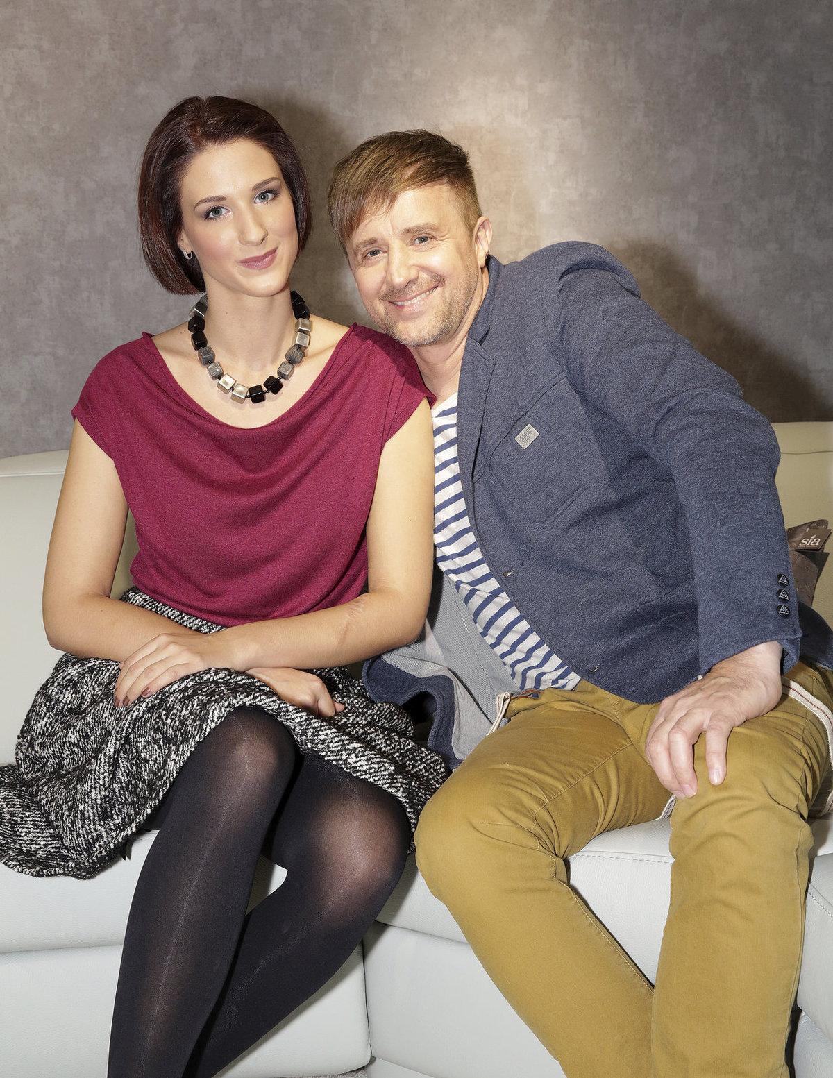 Petr Kotvald a jeho dcera Viktorie