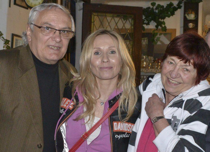 O smrti Jany Pergnerové informoval spisovatel Ondřej Suchý. (Vlevo)